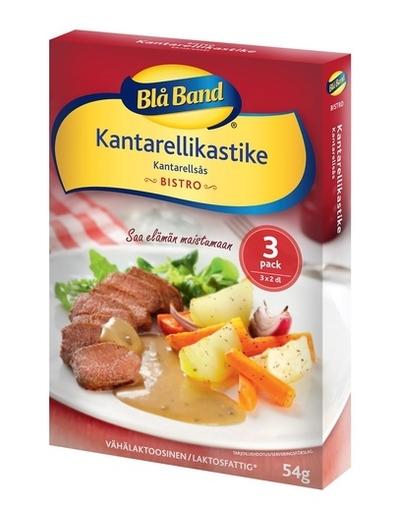 Blå Band Kanttarellikastike