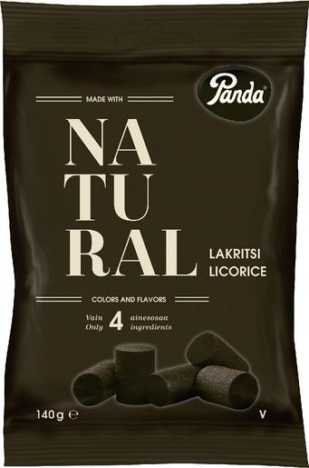 Panda Natural lakritsi