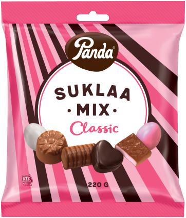 Panda Suklaa- Mix